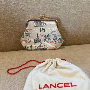 Lancel Limited Edition Paris Metro Map Coi…